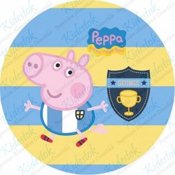 Disque azyme Peppa Pig Rugby