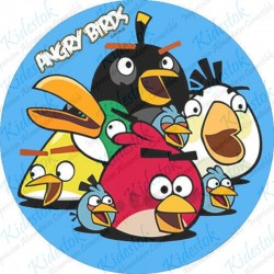 Disque azyme Angry Birds