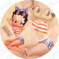 Disque azyme Betty Boop