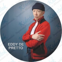 Disque alimentaire en azyme Eddy de Pretto