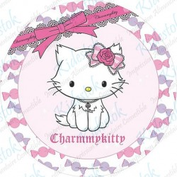 Disque alimentaire en azyme Charmmy Kitty