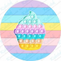 Pâte à sucre FunCakes - 250g -  ROSE VIF
