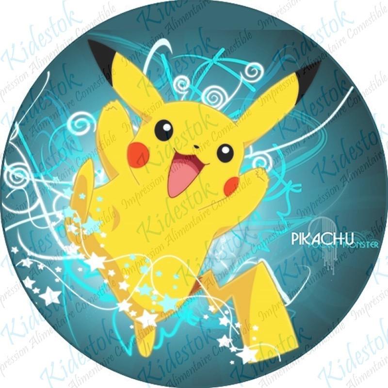 Impression disque azyme Pokémon