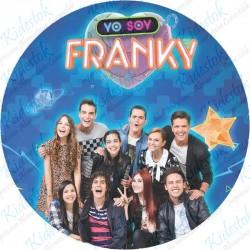 Disque azyme Franky le robot