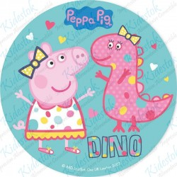 Disque azyme Peppa Pig Dino