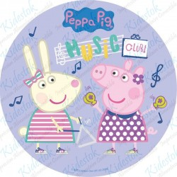 Disque azyme Peppa Pig Music