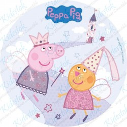 Disque azyme Peppa Pig Fée