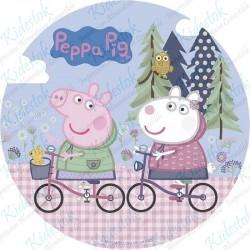 Disque azyme Peppa Pig Balade