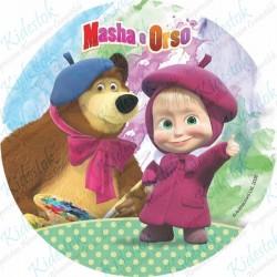 Disque azyme Masha & Michka
