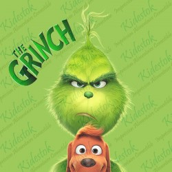 Plaque azyme The Grinch