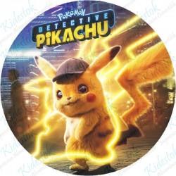 Disque azyme Pikachu Détective
