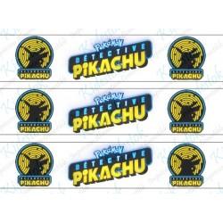 3 Rubans azyme Pikachu...