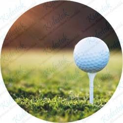 Disque azyme personnalisé Golf