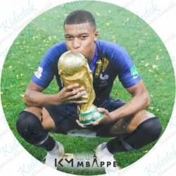 Disque azyme Kilian Mbappé