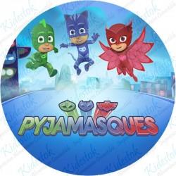 Disque azyme Les Pijamasques