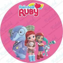 Disque azyme Rainbow Ruby