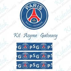 """Kit alimentaire en azyme logo officiel du PSG """"modèle2"""""""