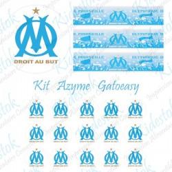 """Kit alimentaire en azyme logo officiel de l'OM """"modèle1"""""""