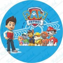 Disque azyme Paw Patrol