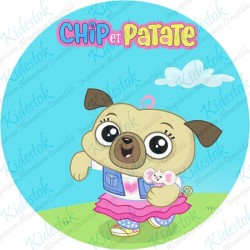 Disque azyme Chip et Patate