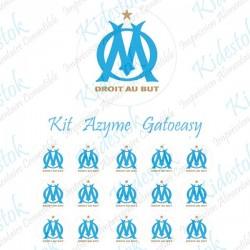 """Kit alimentaire en azyme logo officiel de l'OM """"modèle3"""""""