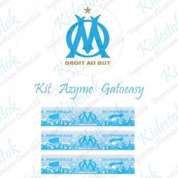 """Kit alimentaire en azyme logo officiel de l'OM """"modèle2"""""""