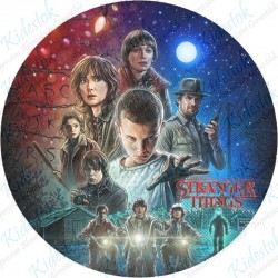 Disque azyme Stranger Things