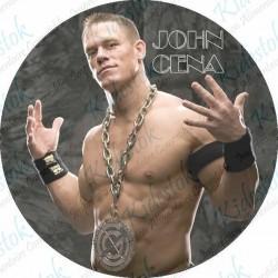 Disque alimentaire en azyme Catch John Cena